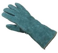 Leather Gauntlets- Green