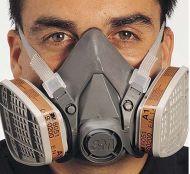 Respirator, Half Mask, 6200, Medium