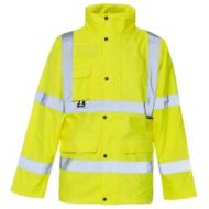 Breathable Hi Vis Parka