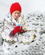 Heat Reflecting Emergency Blanket