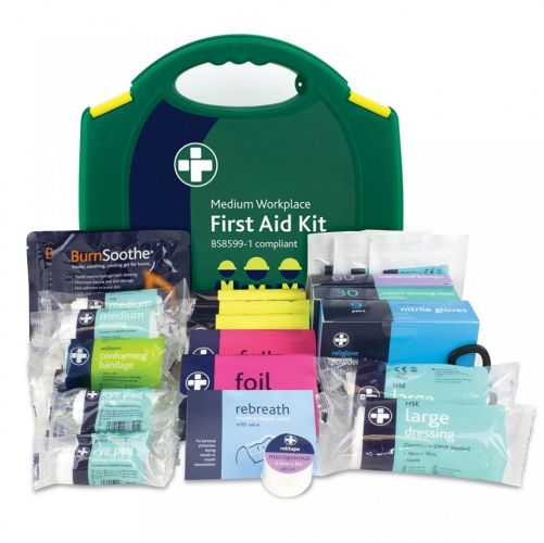 Workplace First Aid Kit, Medium - BS8599