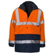 Two Tone Hi Vis Parka
