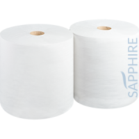 Industrial Wiping Roll, White